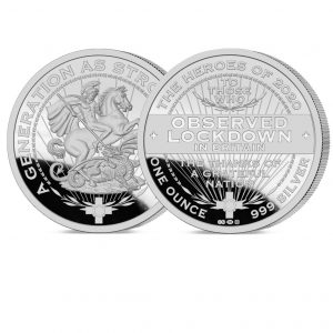 Heroes of 2020: Observed Lockdown 1oz medal