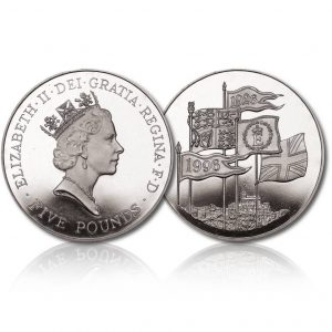 Queen Elizabeth II 1996 Silver Crown