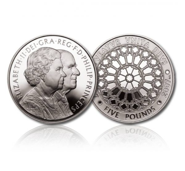 Queen Elizabeth II 2007 Silver Crown