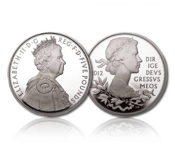 Queen Elizabeth II 2012 Silver Crown
