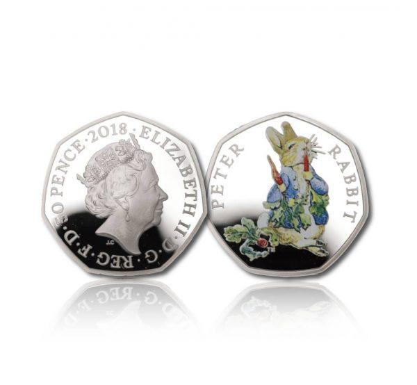 The 2018 Beatrix Potter Peter Rabbit 50 Pence