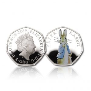 The 2019 Beatrix Potter Peter Rabbit 50 Pence