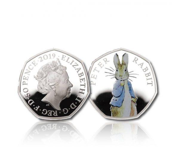 The 2019 Beatrix Potter Peter Rabbit 50 Pence