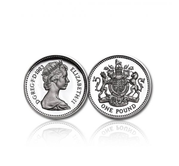 The Old Definitive Silver One Pound