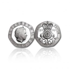 The Old Definitive Silver Twenty Pence