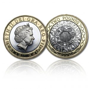 The Old Definitive Silver Two Pound
