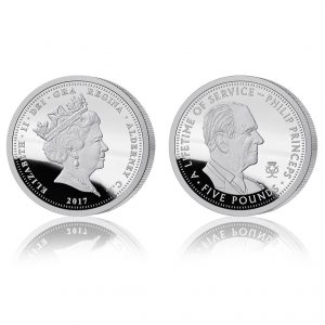 Prince Philip - A Lifetime of Service Silver Proof Five Pound